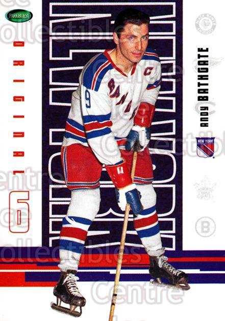 2003-04 Parkhurst Original Six New York Rangers #40 Andy Bathgate<br/>6 In Stock - $1.00 each - <a href=https://centericecollectibles.foxycart.com/cart?name=2003-04%20Parkhurst%20Original%20Six%20New%20York%20Rangers%20%2340%20Andy%20Bathgate...&quantity_max=6&price=$1.00&code=117032 class=foxycart> Buy it now! </a>