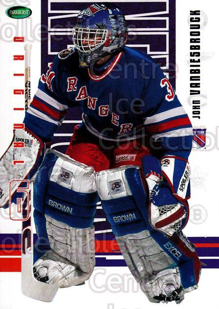 2003-04 Parkhurst Original Six New York Rangers #52 John Vanbiesbrouck<br/>3 In Stock - $1.00 each - <a href=https://centericecollectibles.foxycart.com/cart?name=2003-04%20Parkhurst%20Original%20Six%20New%20York%20Rangers%20%2352%20John%20Vanbiesbro...&quantity_max=3&price=$1.00&code=117045 class=foxycart> Buy it now! </a>