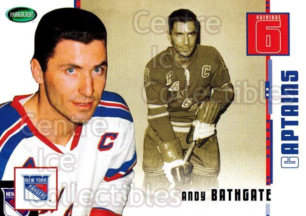 2003-04 Parkhurst Original Six New York Rangers #78 Andy Bathgate<br/>6 In Stock - $1.00 each - <a href=https://centericecollectibles.foxycart.com/cart?name=2003-04%20Parkhurst%20Original%20Six%20New%20York%20Rangers%20%2378%20Andy%20Bathgate...&quantity_max=6&price=$1.00&code=117072 class=foxycart> Buy it now! </a>