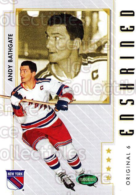 2003-04 Parkhurst Original Six New York Rangers #90 Andy Bathgate<br/>5 In Stock - $1.00 each - <a href=https://centericecollectibles.foxycart.com/cart?name=2003-04%20Parkhurst%20Original%20Six%20New%20York%20Rangers%20%2390%20Andy%20Bathgate...&quantity_max=5&price=$1.00&code=117086 class=foxycart> Buy it now! </a>
