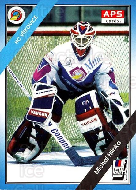 1994-95 Czech APS Extraliga #117 Michal Hlinka<br/>2 In Stock - $2.00 each - <a href=https://centericecollectibles.foxycart.com/cart?name=1994-95%20Czech%20APS%20Extraliga%20%23117%20Michal%20Hlinka...&quantity_max=2&price=$2.00&code=1170 class=foxycart> Buy it now! </a>