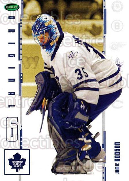 2003-04 Parkhurst Original Six Toronto Maple Leafs #12 Jamie Hodson<br/>2 In Stock - $1.00 each - <a href=https://centericecollectibles.foxycart.com/cart?name=2003-04%20Parkhurst%20Original%20Six%20Toronto%20Maple%20Leafs%20%2312%20Jamie%20Hodson...&quantity_max=2&price=$1.00&code=117101 class=foxycart> Buy it now! </a>