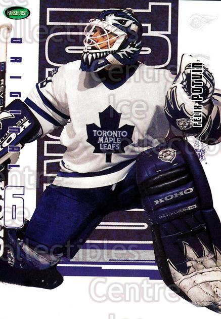 2003-04 Parkhurst Original Six Toronto Maple Leafs #33 Felix Potvin<br/>1 In Stock - $1.00 each - <a href=https://centericecollectibles.foxycart.com/cart?name=2003-04%20Parkhurst%20Original%20Six%20Toronto%20Maple%20Leafs%20%2333%20Felix%20Potvin...&quantity_max=1&price=$1.00&code=117121 class=foxycart> Buy it now! </a>