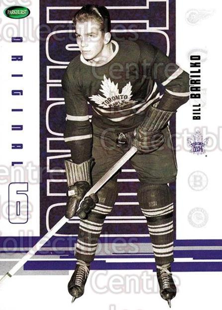 2003-04 Parkhurst Original Six Toronto Maple Leafs #44 Bill Barilko<br/>1 In Stock - $1.00 each - <a href=https://centericecollectibles.foxycart.com/cart?name=2003-04%20Parkhurst%20Original%20Six%20Toronto%20Maple%20Leafs%20%2344%20Bill%20Barilko...&quantity_max=1&price=$1.00&code=117131 class=foxycart> Buy it now! </a>