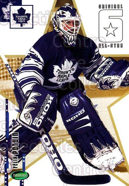 2003-04 Parkhurst Original Six Toronto Maple Leafs #68 Felix Potvin<br/>1 In Stock - $1.00 each - <a href=https://centericecollectibles.foxycart.com/cart?name=2003-04%20Parkhurst%20Original%20Six%20Toronto%20Maple%20Leafs%20%2368%20Felix%20Potvin...&quantity_max=1&price=$1.00&code=117153 class=foxycart> Buy it now! </a>
