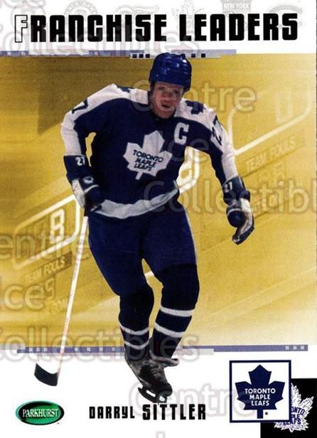 2003-04 Parkhurst Original Six Toronto Maple Leafs #91 Darryl Sittler<br/>5 In Stock - $2.00 each - <a href=https://centericecollectibles.foxycart.com/cart?name=2003-04%20Parkhurst%20Original%20Six%20Toronto%20Maple%20Leafs%20%2391%20Darryl%20Sittler...&quantity_max=5&price=$2.00&code=117177 class=foxycart> Buy it now! </a>