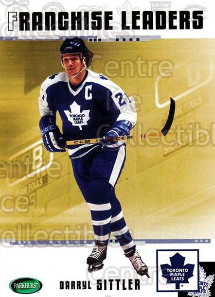 2003-04 Parkhurst Original Six Toronto Maple Leafs #93 Darryl Sittler<br/>8 In Stock - $2.00 each - <a href=https://centericecollectibles.foxycart.com/cart?name=2003-04%20Parkhurst%20Original%20Six%20Toronto%20Maple%20Leafs%20%2393%20Darryl%20Sittler...&quantity_max=8&price=$2.00&code=117179 class=foxycart> Buy it now! </a>