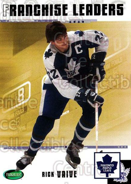 2003-04 Parkhurst Original Six Toronto Maple Leafs #96 Rick Vaive<br/>5 In Stock - $1.00 each - <a href=https://centericecollectibles.foxycart.com/cart?name=2003-04%20Parkhurst%20Original%20Six%20Toronto%20Maple%20Leafs%20%2396%20Rick%20Vaive...&quantity_max=5&price=$1.00&code=117182 class=foxycart> Buy it now! </a>