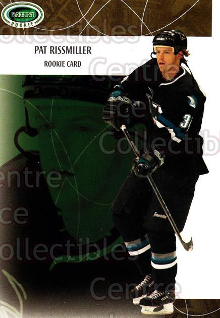 2003-04 Parkhurst Rookie #125 Pat Rissmiller<br/>5 In Stock - $5.00 each - <a href=https://centericecollectibles.foxycart.com/cart?name=2003-04%20Parkhurst%20Rookie%20%23125%20Pat%20Rissmiller...&quantity_max=5&price=$5.00&code=117205 class=foxycart> Buy it now! </a>