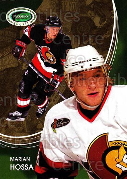 2003-04 Parkhurst Rookie #20 Marian Hossa<br/>1 In Stock - $2.00 each - <a href=https://centericecollectibles.foxycart.com/cart?name=2003-04%20Parkhurst%20Rookie%20%2320%20Marian%20Hossa...&quantity_max=1&price=$2.00&code=117216 class=foxycart> Buy it now! </a>