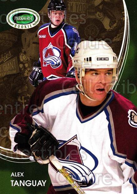 2003-04 Parkhurst Rookie #40 Alex Tanguay<br/>1 In Stock - $2.00 each - <a href=https://centericecollectibles.foxycart.com/cart?name=2003-04%20Parkhurst%20Rookie%20%2340%20Alex%20Tanguay...&quantity_max=1&price=$2.00&code=117232 class=foxycart> Buy it now! </a>