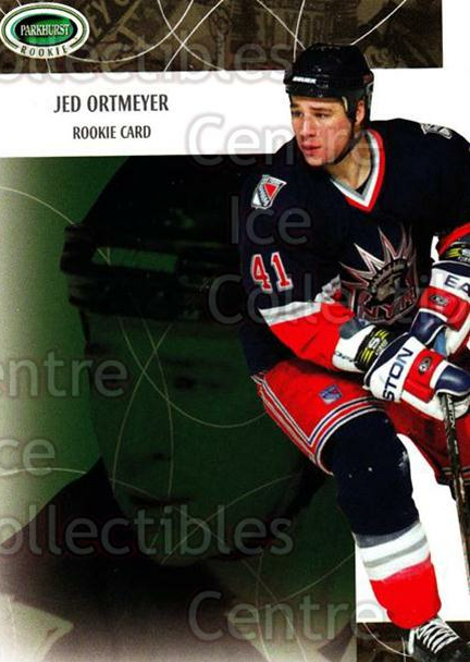 2003-04 Parkhurst Rookie #86 Jed Ortmeyer<br/>7 In Stock - $5.00 each - <a href=https://centericecollectibles.foxycart.com/cart?name=2003-04%20Parkhurst%20Rookie%20%2386%20Jed%20Ortmeyer...&quantity_max=7&price=$5.00&code=117271 class=foxycart> Buy it now! </a>