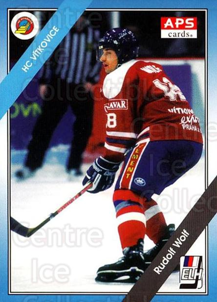 1994-95 Czech APS Extraliga #119 Rudolf Wolf<br/>11 In Stock - $2.00 each - <a href=https://centericecollectibles.foxycart.com/cart?name=1994-95%20Czech%20APS%20Extraliga%20%23119%20Rudolf%20Wolf...&quantity_max=11&price=$2.00&code=1172 class=foxycart> Buy it now! </a>