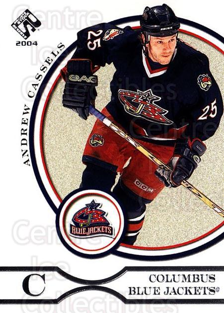 2003-04 Private Stock Retail #26 Andrew Cassels<br/>6 In Stock - $1.00 each - <a href=https://centericecollectibles.foxycart.com/cart?name=2003-04%20Private%20Stock%20Retail%20%2326%20Andrew%20Cassels...&quantity_max=6&price=$1.00&code=117353 class=foxycart> Buy it now! </a>