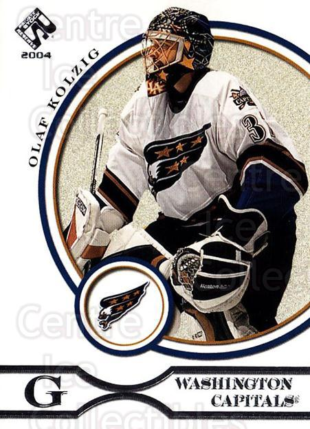 2003-04 Private Stock Retail #100 Olaf Kolzig<br/>7 In Stock - $1.00 each - <a href=https://centericecollectibles.foxycart.com/cart?name=2003-04%20Private%20Stock%20Retail%20%23100%20Olaf%20Kolzig...&quantity_max=7&price=$1.00&code=117436 class=foxycart> Buy it now! </a>