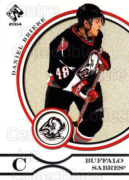 2003-04 Private Stock Retail #12 Daniel Briere<br/>7 In Stock - $1.00 each - <a href=https://centericecollectibles.foxycart.com/cart?name=2003-04%20Private%20Stock%20Retail%20%2312%20Daniel%20Briere...&quantity_max=7&price=$1.00&code=117442 class=foxycart> Buy it now! </a>