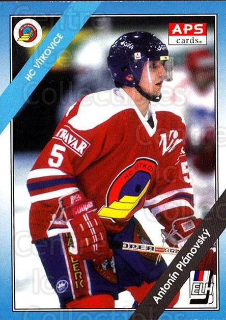 1994-95 Czech APS Extraliga #120 Antonin Planovsky<br/>9 In Stock - $2.00 each - <a href=https://centericecollectibles.foxycart.com/cart?name=1994-95%20Czech%20APS%20Extraliga%20%23120%20Antonin%20Planovs...&quantity_max=9&price=$2.00&code=1174 class=foxycart> Buy it now! </a>