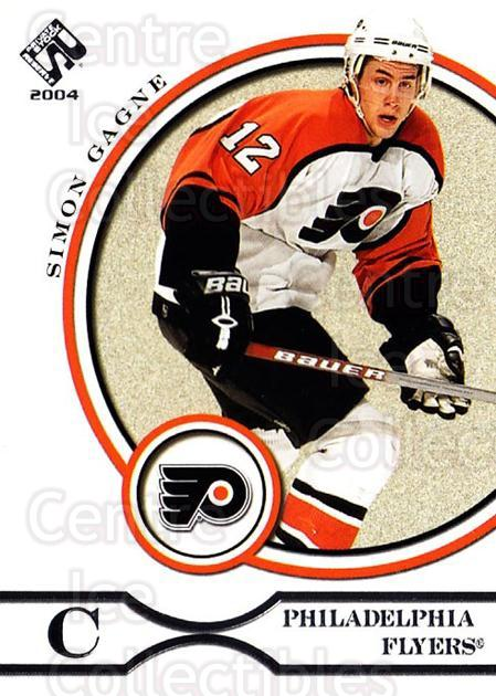 2003-04 Private Stock Retail #75 Simon Gagne<br/>4 In Stock - $1.00 each - <a href=https://centericecollectibles.foxycart.com/cart?name=2003-04%20Private%20Stock%20Retail%20%2375%20Simon%20Gagne...&quantity_max=4&price=$1.00&code=117508 class=foxycart> Buy it now! </a>