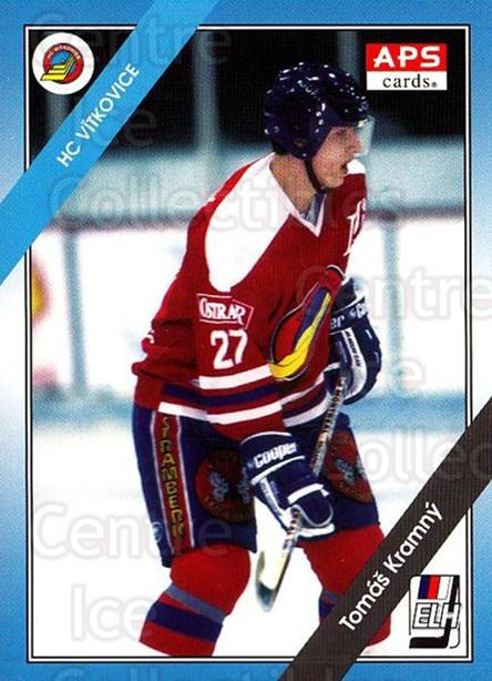 1994-95 Czech APS Extraliga #121 Tomas Kramny<br/>10 In Stock - $2.00 each - <a href=https://centericecollectibles.foxycart.com/cart?name=1994-95%20Czech%20APS%20Extraliga%20%23121%20Tomas%20Kramny...&quantity_max=10&price=$2.00&code=1175 class=foxycart> Buy it now! </a>