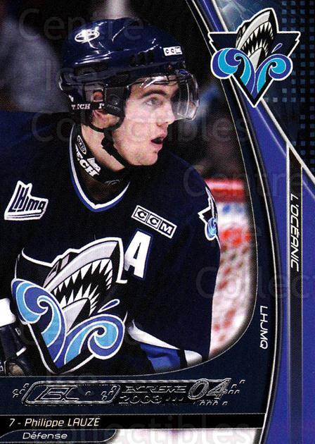 2003-04 Rimouski Oceanic #12 Philippe Lauze<br/>5 In Stock - $3.00 each - <a href=https://centericecollectibles.foxycart.com/cart?name=2003-04%20Rimouski%20Oceanic%20%2312%20Philippe%20Lauze...&quantity_max=5&price=$3.00&code=117634 class=foxycart> Buy it now! </a>