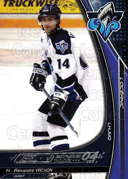 2003-04 Rimouski Oceanic #22 Alexandre Vachon<br/>5 In Stock - $3.00 each - <a href=https://centericecollectibles.foxycart.com/cart?name=2003-04%20Rimouski%20Oceanic%20%2322%20Alexandre%20Vacho...&quantity_max=5&price=$3.00&code=117641 class=foxycart> Buy it now! </a>