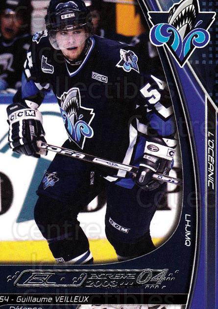 2003-04 Rimouski Oceanic #23 Guillaume Veilleux<br/>5 In Stock - $3.00 each - <a href=https://centericecollectibles.foxycart.com/cart?name=2003-04%20Rimouski%20Oceanic%20%2323%20Guillaume%20Veill...&quantity_max=5&price=$3.00&code=117642 class=foxycart> Buy it now! </a>