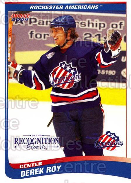 2003-04 Rochester Americans #25 Derek Roy<br/>2 In Stock - $3.00 each - <a href=https://centericecollectibles.foxycart.com/cart?name=2003-04%20Rochester%20Americans%20%2325%20Derek%20Roy...&quantity_max=2&price=$3.00&code=117659 class=foxycart> Buy it now! </a>