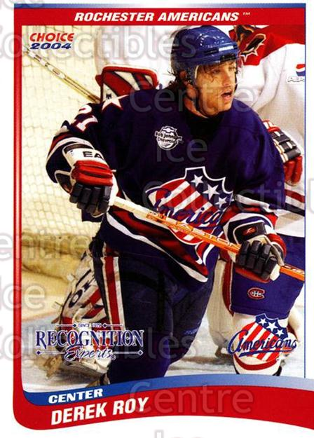 2003-04 Rochester Americans #26 Derek Roy<br/>2 In Stock - $3.00 each - <a href=https://centericecollectibles.foxycart.com/cart?name=2003-04%20Rochester%20Americans%20%2326%20Derek%20Roy...&quantity_max=2&price=$3.00&code=117660 class=foxycart> Buy it now! </a>