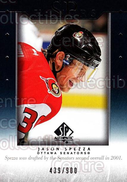 2003-04 SP Authentic Honors #18 Jason Spezza<br/>2 In Stock - $3.00 each - <a href=https://centericecollectibles.foxycart.com/cart?name=2003-04%20SP%20Authentic%20Honors%20%2318%20Jason%20Spezza...&quantity_max=2&price=$3.00&code=117953 class=foxycart> Buy it now! </a>
