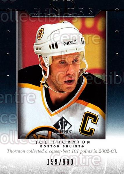 2003-04 SP Authentic Honors #25 Joe Thornton<br/>5 In Stock - $3.00 each - <a href=https://centericecollectibles.foxycart.com/cart?name=2003-04%20SP%20Authentic%20Honors%20%2325%20Joe%20Thornton...&quantity_max=5&price=$3.00&code=117957 class=foxycart> Buy it now! </a>
