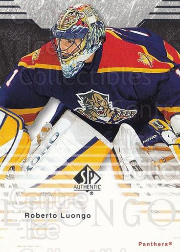 2003-04 SP Authentic #38 Roberto Luongo<br/>5 In Stock - $2.00 each - <a href=https://centericecollectibles.foxycart.com/cart?name=2003-04%20SP%20Authentic%20%2338%20Roberto%20Luongo...&quantity_max=5&price=$2.00&code=118061 class=foxycart> Buy it now! </a>