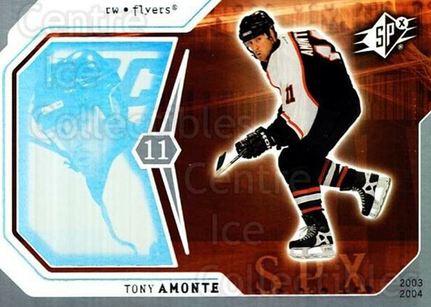 2003-04 SPx #71 Tony Amonte<br/>4 In Stock - $1.00 each - <a href=https://centericecollectibles.foxycart.com/cart?name=2003-04%20SPx%20%2371%20Tony%20Amonte...&quantity_max=4&price=$1.00&code=118304 class=foxycart> Buy it now! </a>
