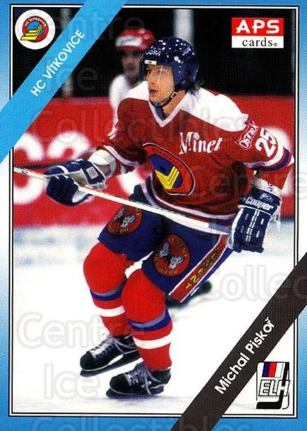 1994-95 Czech APS Extraliga #133 Michal Piskor<br/>6 In Stock - $2.00 each - <a href=https://centericecollectibles.foxycart.com/cart?name=1994-95%20Czech%20APS%20Extraliga%20%23133%20Michal%20Piskor...&quantity_max=6&price=$2.00&code=1183 class=foxycart> Buy it now! </a>
