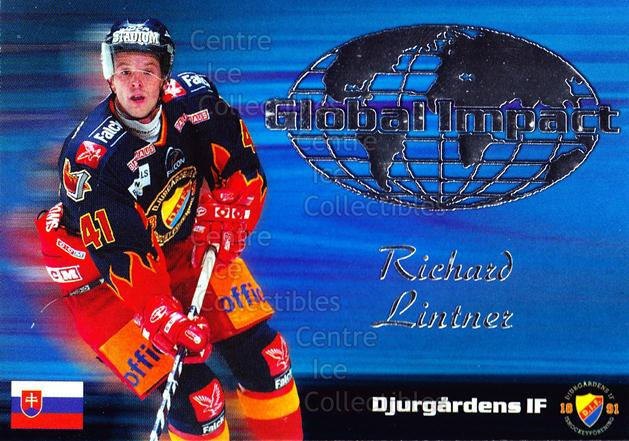 2003-04 Swedish Elitset Global Impact #2 Richard Lintner<br/>2 In Stock - $3.00 each - <a href=https://centericecollectibles.foxycart.com/cart?name=2003-04%20Swedish%20Elitset%20Global%20Impact%20%232%20Richard%20Lintner...&price=$3.00&code=118404 class=foxycart> Buy it now! </a>