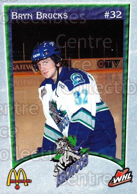 2003-04 Swift Current Broncos #1 Bryn Brucks<br/>6 In Stock - $3.00 each - <a href=https://centericecollectibles.foxycart.com/cart?name=2003-04%20Swift%20Current%20Broncos%20%231%20Bryn%20Brucks...&quantity_max=6&price=$3.00&code=118558 class=foxycart> Buy it now! </a>
