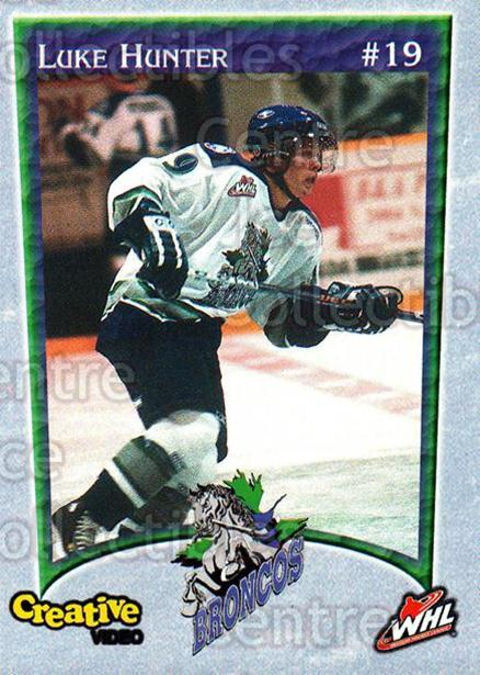 2003-04 Swift Current Broncos #6 Luke Hunter<br/>5 In Stock - $3.00 each - <a href=https://centericecollectibles.foxycart.com/cart?name=2003-04%20Swift%20Current%20Broncos%20%236%20Luke%20Hunter...&quantity_max=5&price=$3.00&code=118576 class=foxycart> Buy it now! </a>