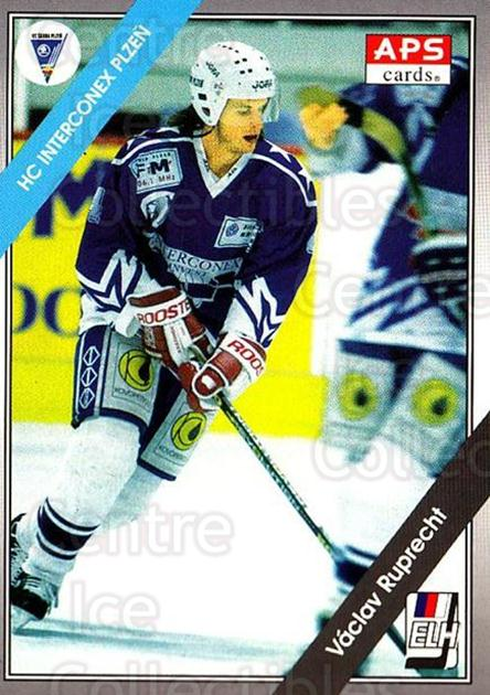 1994-95 Czech APS Extraliga #146 Vaclav Ruprecht<br/>10 In Stock - $2.00 each - <a href=https://centericecollectibles.foxycart.com/cart?name=1994-95%20Czech%20APS%20Extraliga%20%23146%20Vaclav%20Ruprecht...&quantity_max=10&price=$2.00&code=1195 class=foxycart> Buy it now! </a>