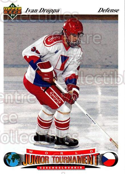 1991-92 Upper Deck Czech World Juniors #98 Ivan Droppa<br/>7 In Stock - $2.00 each - <a href=https://centericecollectibles.foxycart.com/cart?name=1991-92%20Upper%20Deck%20Czech%20World%20Juniors%20%2398%20Ivan%20Droppa...&quantity_max=7&price=$2.00&code=11966 class=foxycart> Buy it now! </a>