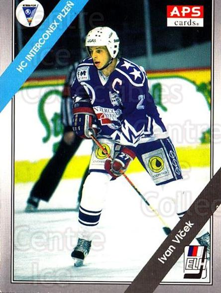 1994-95 Czech APS Extraliga #147 Ivan Vlcek<br/>5 In Stock - $2.00 each - <a href=https://centericecollectibles.foxycart.com/cart?name=1994-95%20Czech%20APS%20Extraliga%20%23147%20Ivan%20Vlcek...&quantity_max=5&price=$2.00&code=1196 class=foxycart> Buy it now! </a>
