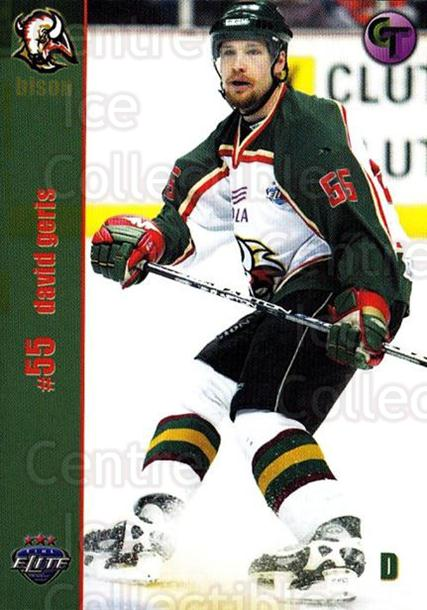 2003-04 UK British Elite Basingstoke Bison #3 David Geris<br/>9 In Stock - $3.00 each - <a href=https://centericecollectibles.foxycart.com/cart?name=2003-04%20UK%20British%20Elite%20Basingstoke%20Bison%20%233%20David%20Geris...&quantity_max=9&price=$3.00&code=119754 class=foxycart> Buy it now! </a>