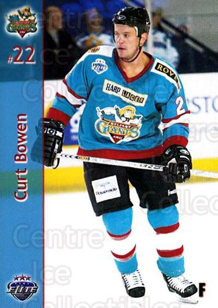 2003-04 UK British Elite Belfast Giants #2 Curt Bowen<br/>4 In Stock - $3.00 each - <a href=https://centericecollectibles.foxycart.com/cart?name=2003-04%20UK%20British%20Elite%20Belfast%20Giants%20%232%20Curt%20Bowen...&quantity_max=4&price=$3.00&code=119772 class=foxycart> Buy it now! </a>
