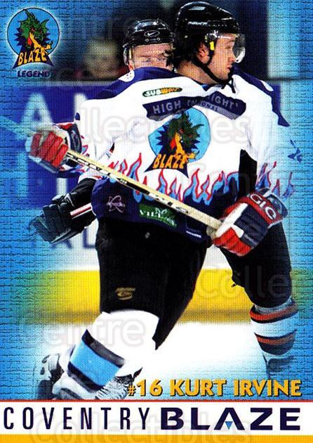 2003-04 UK British Elite Coventry Blaze History #2 Kurt Irvine<br/>3 In Stock - $2.00 each - <a href=https://centericecollectibles.foxycart.com/cart?name=2003-04%20UK%20British%20Elite%20Coventry%20Blaze%20History%20%232%20Kurt%20Irvine...&price=$2.00&code=119807 class=foxycart> Buy it now! </a>