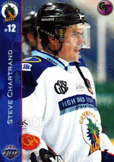 2003-04 UK British Elite Coventry Blaze #10 Steve Chartrand<br/>8 In Stock - $2.00 each - <a href=https://centericecollectibles.foxycart.com/cart?name=2003-04%20UK%20British%20Elite%20Coventry%20Blaze%20%2310%20Steve%20Chartrand...&price=$2.00&code=119816 class=foxycart> Buy it now! </a>
