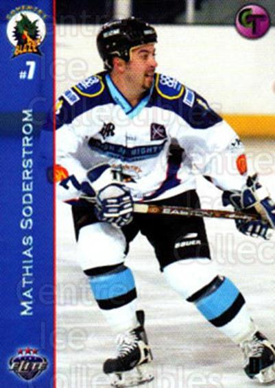 2003-04 UK British Elite Coventry Blaze #2 Mathias Soderstrom<br/>6 In Stock - $2.00 each - <a href=https://centericecollectibles.foxycart.com/cart?name=2003-04%20UK%20British%20Elite%20Coventry%20Blaze%20%232%20Mathias%20Soderst...&price=$2.00&code=119825 class=foxycart> Buy it now! </a>