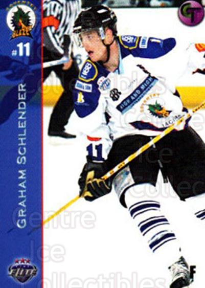 2003-04 UK British Elite Coventry Blaze #9 Graham Schlender<br/>7 In Stock - $2.00 each - <a href=https://centericecollectibles.foxycart.com/cart?name=2003-04%20UK%20British%20Elite%20Coventry%20Blaze%20%239%20Graham%20Schlende...&price=$2.00&code=119832 class=foxycart> Buy it now! </a>