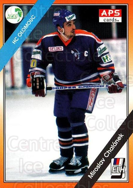 1994-95 Czech APS Extraliga #15 Miroslav Chalanek<br/>9 In Stock - $2.00 each - <a href=https://centericecollectibles.foxycart.com/cart?name=1994-95%20Czech%20APS%20Extraliga%20%2315%20Miroslav%20Chalan...&quantity_max=9&price=$2.00&code=1198 class=foxycart> Buy it now! </a>