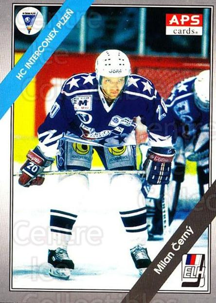1994-95 Czech APS Extraliga #150 Milan Cerny<br/>10 In Stock - $2.00 each - <a href=https://centericecollectibles.foxycart.com/cart?name=1994-95%20Czech%20APS%20Extraliga%20%23150%20Milan%20Cerny...&quantity_max=10&price=$2.00&code=1199 class=foxycart> Buy it now! </a>