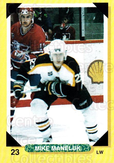 1992-93 Brandon Wheat Kings #18 Mike Maneluk<br/>3 In Stock - $3.00 each - <a href=https://centericecollectibles.foxycart.com/cart?name=1992-93%20Brandon%20Wheat%20Kings%20%2318%20Mike%20Maneluk...&quantity_max=3&price=$3.00&code=12002 class=foxycart> Buy it now! </a>