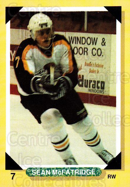 1992-93 Brandon Wheat Kings #7 Sean McFatridge<br/>1 In Stock - $3.00 each - <a href=https://centericecollectibles.foxycart.com/cart?name=1992-93%20Brandon%20Wheat%20Kings%20%237%20Sean%20McFatridge...&quantity_max=1&price=$3.00&code=12003 class=foxycart> Buy it now! </a>