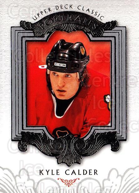 2003-04 UD Classic Portraits #18 Kyle Calder<br/>5 In Stock - $1.00 each - <a href=https://centericecollectibles.foxycart.com/cart?name=2003-04%20UD%20Classic%20Portraits%20%2318%20Kyle%20Calder...&quantity_max=5&price=$1.00&code=120058 class=foxycart> Buy it now! </a>